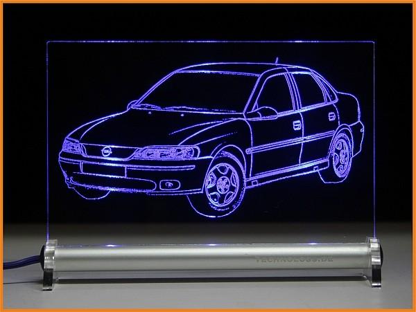 Opel Vectra B LED Leuchtschild