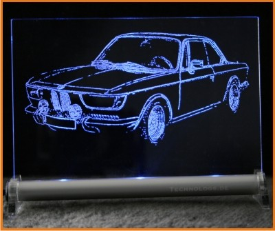 BMW 2000 LED Leuchtschild