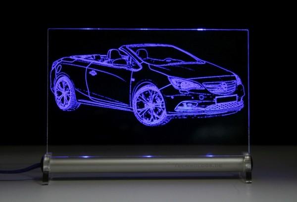 Opel Cascada LED Leuchtschild