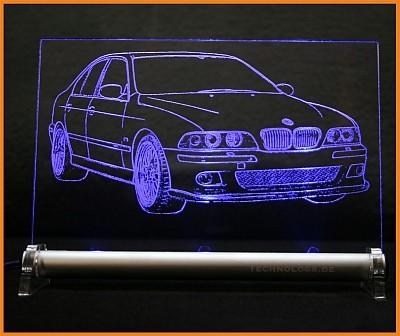 BMW 5 E39 M5 LED Leuchtschild