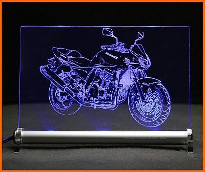 Kawasaki Z 750 LED Leuchtschild
