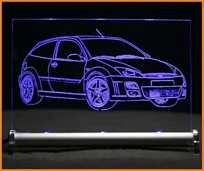 Ford Focus RS 2003 LED Leuchtschild