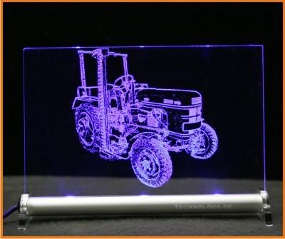 Fahr D 130 H Traktor LED Leuchtschild