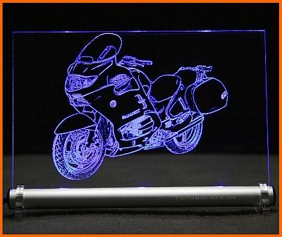 BMW R 1150 RT LED Leuchtschild