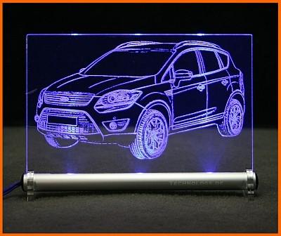 Ford Kuga LED Leuchtschild
