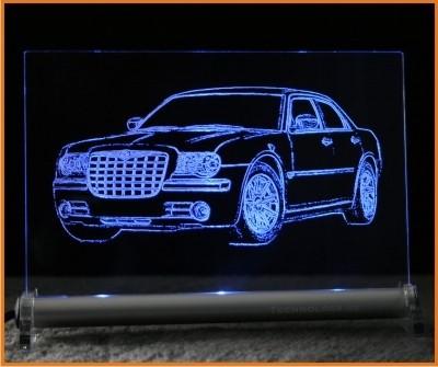 Chrysler 300C Limousine LED Leuchtschild