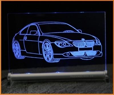 BMW 6er E63 LED Leuchtschild