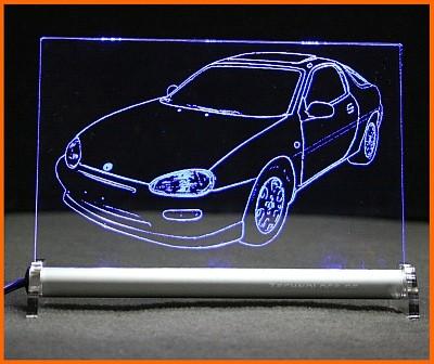 Mazda MX-3 LED Leuchtschild