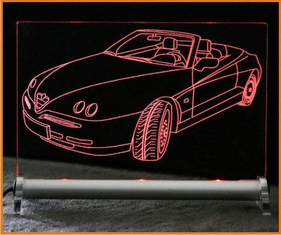Alfa Spider LED Leuchtschild