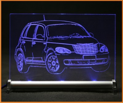 Chrysler PT Cruiser 2007 LED Leuchtschild