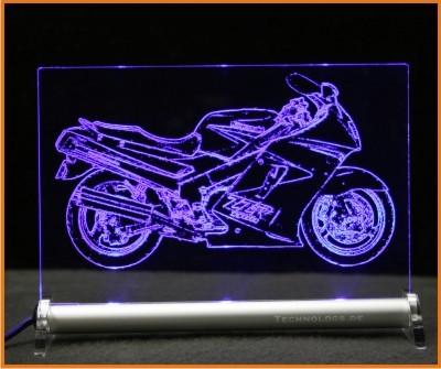 Kawasaki ZZR 1100 LED Leuchtschild