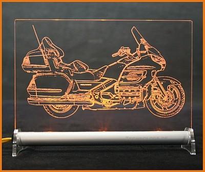 Honda Gold Wing 1800 LED Leuchtschild