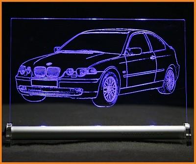 BMW 3 E46 Compact LED Leuchtschild