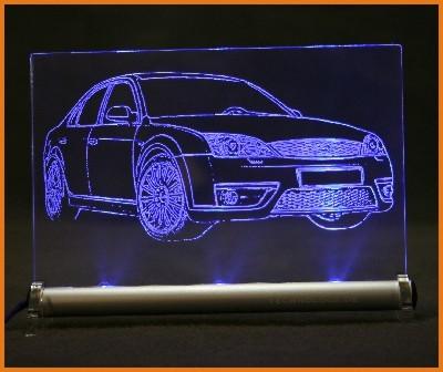 Ford Mondeo ST220 LED Leuchtschild