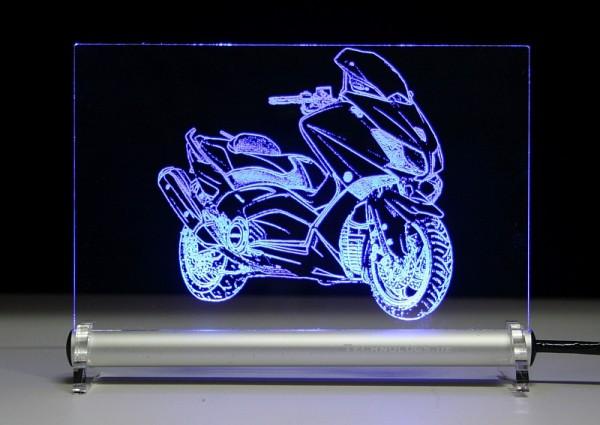 Yamaha TMAX 530 LED Leuchtschild