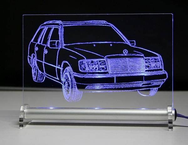 Mercedes W124 T Kombi LED Leuchtschild